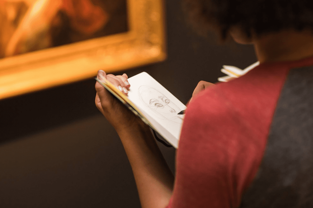 Sketch Party Hosted by Sotheby's & Moleskine