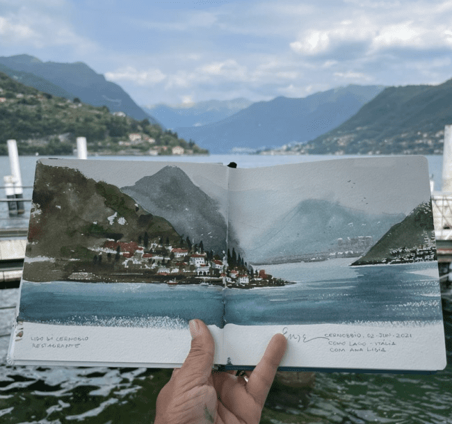 Eudes Correia: Plein Air Watercolor in Nature (Early Session)